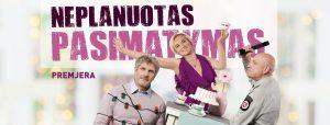 Komedija | NEPLANUOTAS PASIMATYMAS @ Elektrėnų kutlūros centras